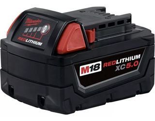 Batería Milwaukee 18v Xc 5.0 Ah Litio 48-11-1850 Red Lithium