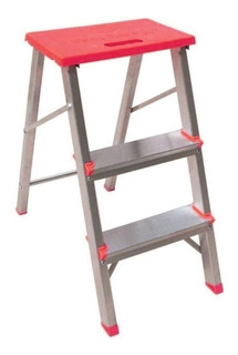 Escada Residencial Rn203 3 Degraus (2 Degrau + Plataforma)