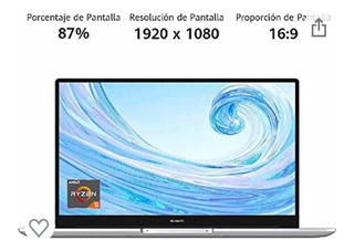 Huawei Matebook D 15- 8gb+256gb(plateado Místico) New