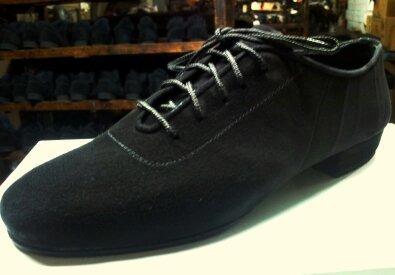 Zapatos Gamuza Flexible Cromo Partido Para Bailar Tango