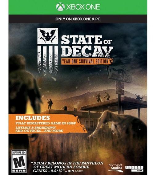 State Of Decay: Year One Xbox One Mídia Digital + 1 Jogo