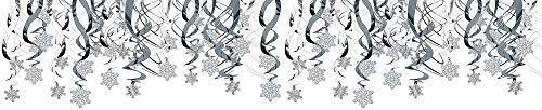 Remolinos Colgantes De Copo De Nieve - 30 Piezas