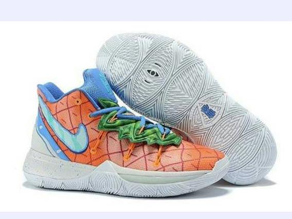 Tênis Nike Kyrie 5 Bob Esponja Abacaxi Original Na Caixa Top