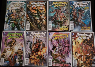 Dc - Aquaman And The Others (1 Al 8) Completo