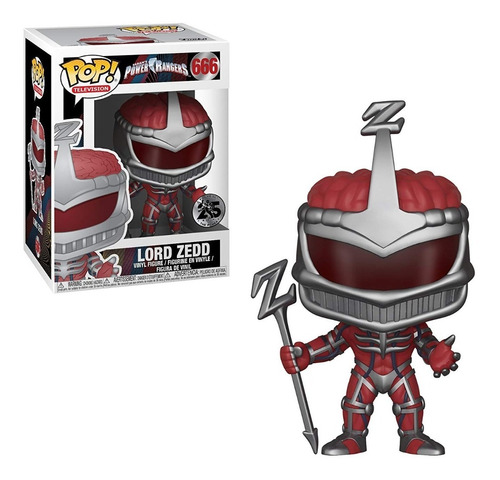 Funko Pop Power Rangers Lord Zedd