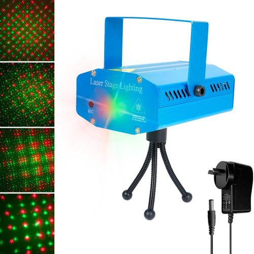Imagen 1 de 9 de Laser Color Efecto Dj Audioritmico Figuras Fiesta Proyector