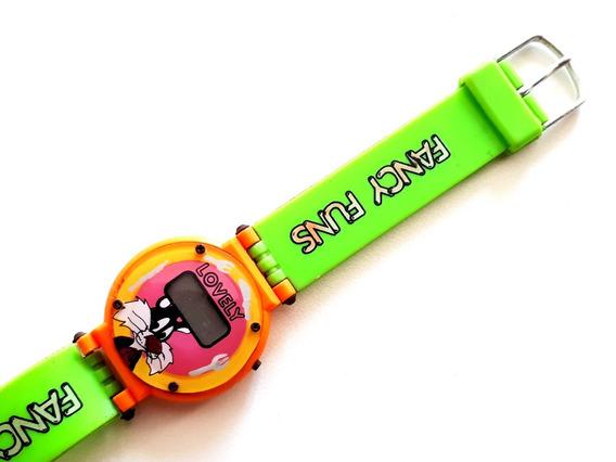 Relógio Infantil Lovely Frajola Década 90 - Colecionador!