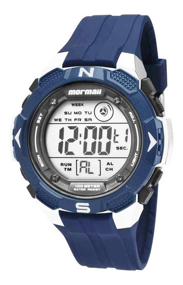 Relógio Mormaii Mo2908/8a Mo2908 8a Digital Azul Wave