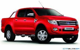 Estribo Plataforma Nova Ranger Dupla Vermelho 2012...autoaba