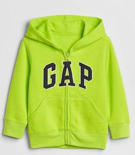 Buso Con Capota Logo Gap Infantil Buso Hoodies Neon