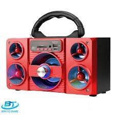 Caixa Bluetooth 5watts Super Bass Com Visor Sd.usb.fm Mini S
