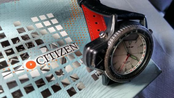 Citizen Aerochron C046 Black - Wind Surf Promaster Combo