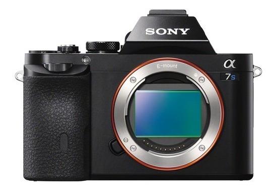 Câmera Sony A7s Mirrorless 4k Full-frame Lce7s/b (corpo)