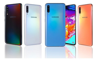 Samsung Galaxy A70 128gb + Memoria 128gb (400 Vrds)
