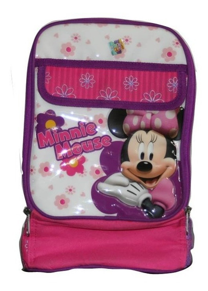 Lunchera Minnie Mouse Original Disney ! Ganga !
