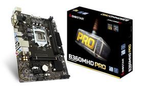 Placa Mãe Biostar B360m Hd Pro Intel 8ª Geração 1151 Ddr4