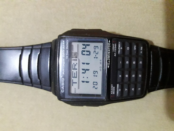 Relógio Casio Data Bank Dbc-32