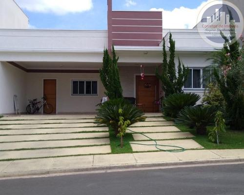 Casa No Condominio Maria Dulce Em Indaiatuba Com  3 Suítes, Piscina E Área Gourmet - Ca00021 - 67628707