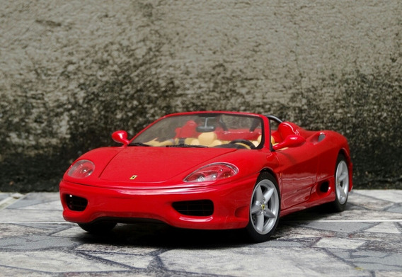 Ferrari 360 Spider Hot Wheels 1/18