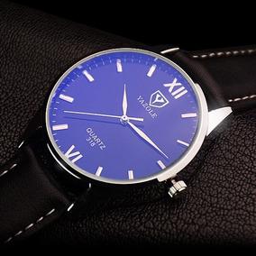 Relógio Masculino De Pulso Yazole Barato Luxo Quartz Casual