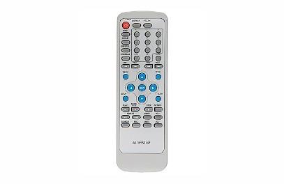Controle Remoto Para Dvd Britania Dvd-1005 Compact Slim Vb