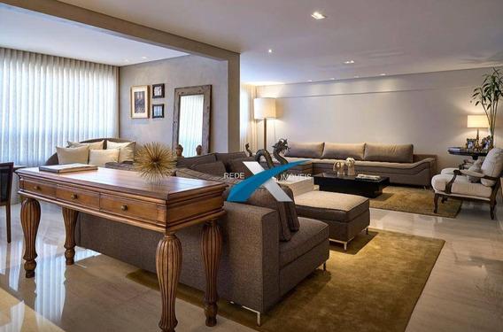 Apartamento De Alto Luxo 4 Quartos À Venda No Vila Da Serra 215 M² Por R$ 2.980.000,00 -nova Lima/mg - Ap5939