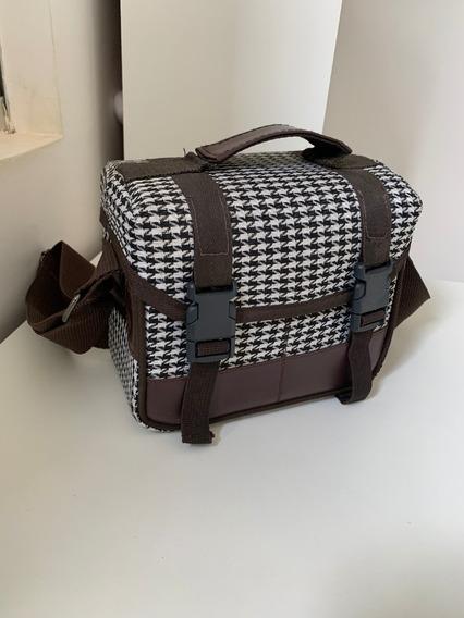 Bolsa Pequena Para Câmera E/ou Acessórios Pied Poule