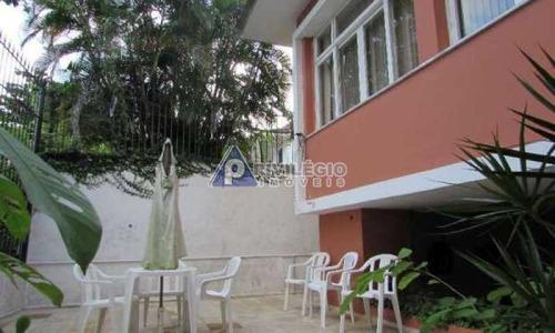Casa De Rua À Venda, 6 Quartos, 2 Suítes, 2 Vagas, Jardim Botânico - Rio De Janeiro/rj - 22280