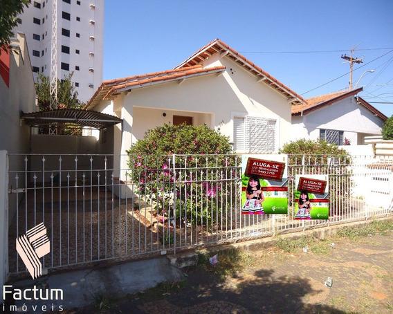 Casa Para Locação Jardim São Paulo, Americana - Ca00033 - 4755820