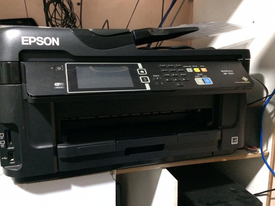 Impressora Epson Wf-7610 A3 Work Force Revisada