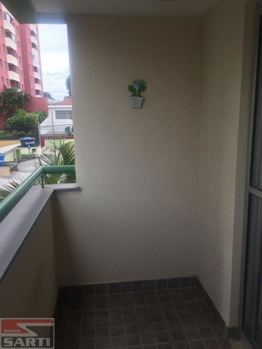 Imagem 1 de 15 de Apartamento Com Sacada , Piso Laminado   - St15013