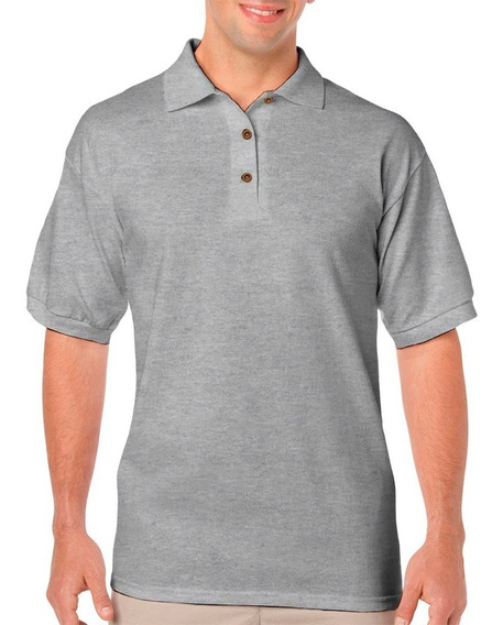 Playera Tipo Polo Ultra Cotton Para Caballero National Style