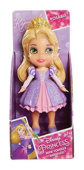 Mini Boneca Princesas - Rapunzel