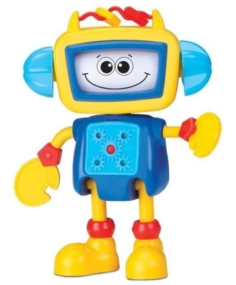 Boneco Robô De Atividades Roby - Elka
