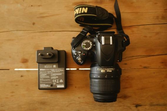 Câmera Digital Nikon D3200 (pouco Usada)