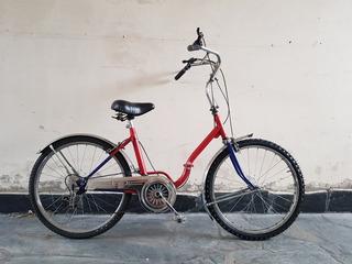 Bicicleta Retro Tipo Aurorita Plegable Rod 24
