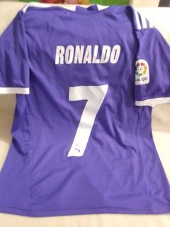 Camiseta Real Madrid Violeta