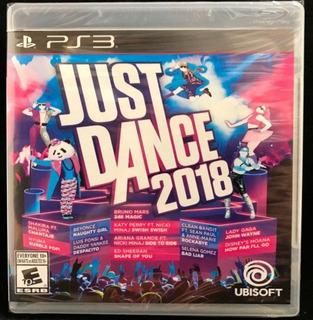 Just Dance 2018 Ps3 Juego Físico Nuevo Sellado