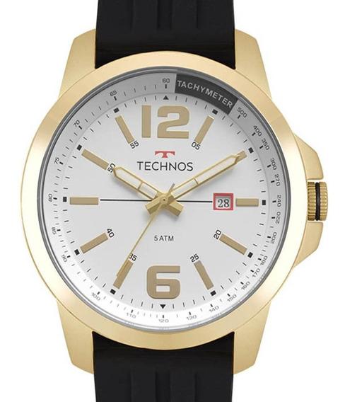 Relógio Technos Masculino Racer 2115mro/8p Dourado + Nf-e