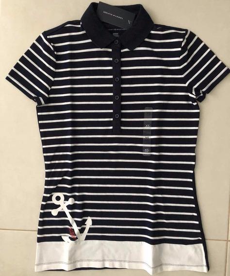 Camiseta Tommy Hilfiger Feminina Casaco Gap Blusa Hollister