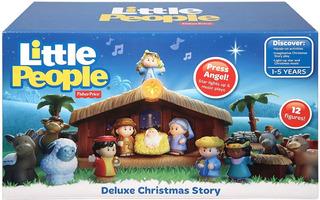Pesebre Navidad Little People Fisher Price El Mas Completo