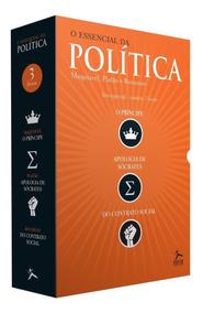 Box - O Essencial Da Política - 3 Volumes