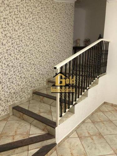 Casa Com 3 Dormitórios À Venda, 344 M² Por R$ 650.000 - Vila Monte Alegre - Ribeirão Preto/sp - Ca0850