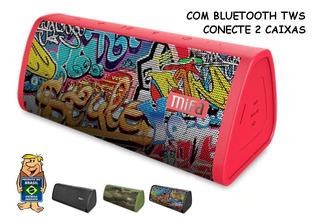 Caixa Som Bluetooth 10w Rms Tws Portátil Mifa A10 - Já No Br
