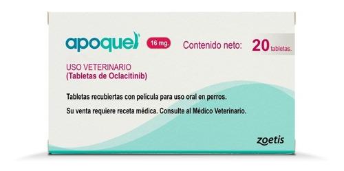 Apoquel Dermatologico Zoetis 16mg 20 Tabs