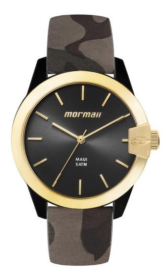 Relógio Mormaii Feminino Mo2035ik/8p Camuflado Analogico
