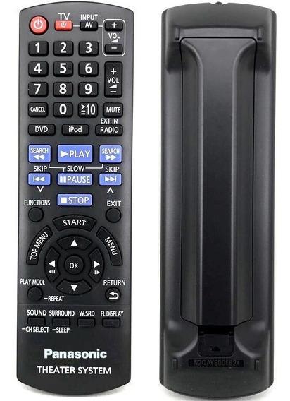 Controle Remoto P/ Home Theater Panasonic Sa-pt570 Original