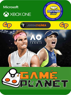 Ao Tennis International Xbox One Modo Local + En Linea