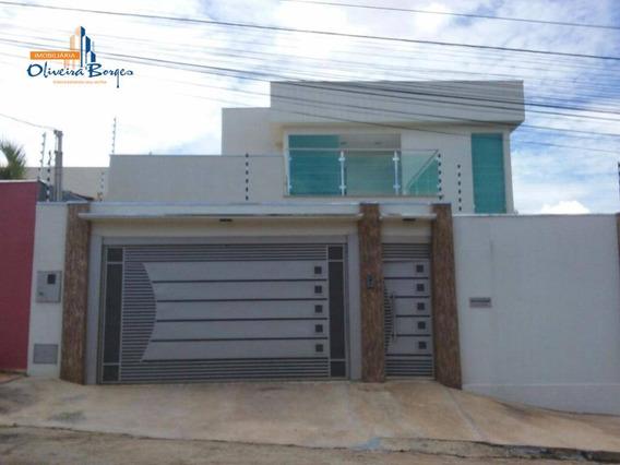 Sobrado Com 4 Dormitórios À Venda, 269 M² Por R$ 790.000,00 - Maracananzinho - Anápolis/go - So0073
