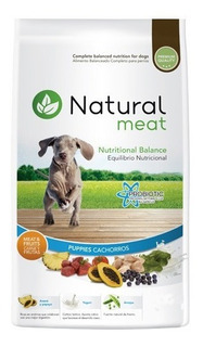 Alimento Natural Meat Perro Cachorro 15 Kg